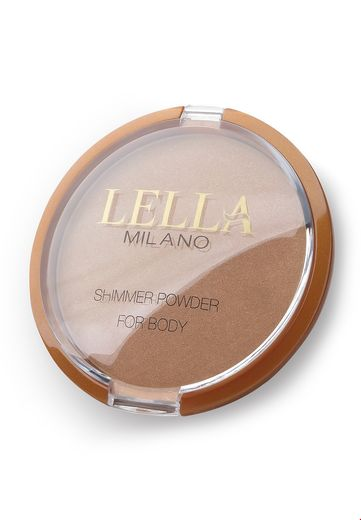 Lella Milano Shimmer powder for body