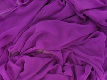 Luxury Georgette Hot Magenta