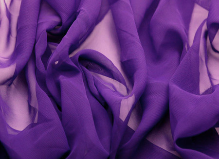 Luxury Georgette Purple Rain